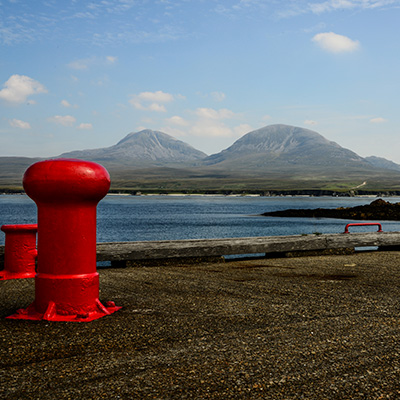 Blick von Islay nach Jura